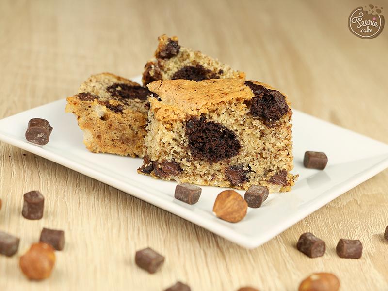 Biscuit marbré chocolat et noisette 2
