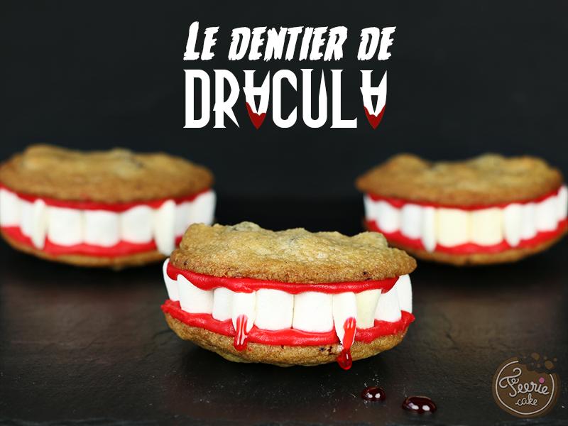Cookies le dentier de Dracula