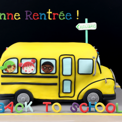 Gateau bus scolaire 1