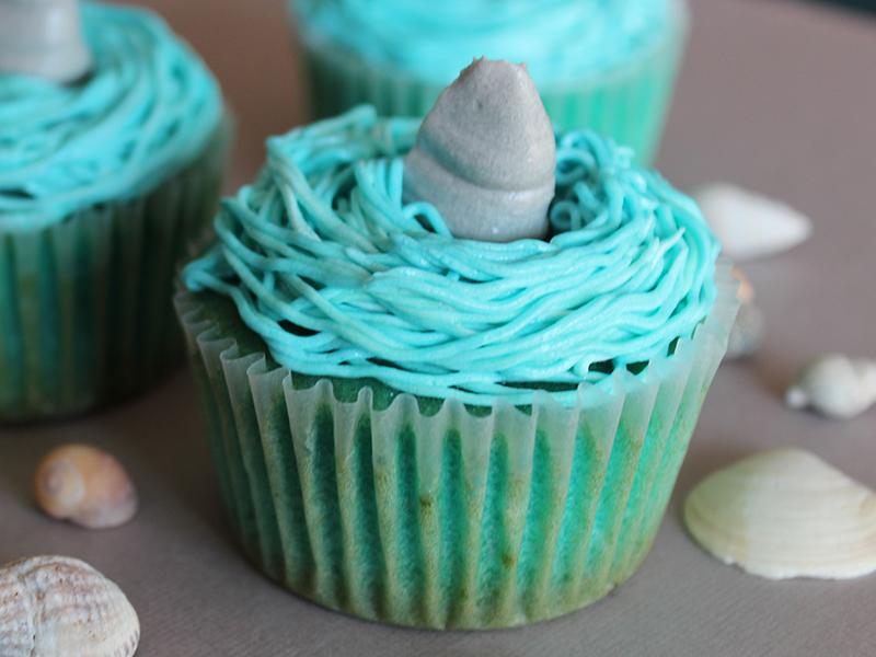 cupcakes requin Elodie 3