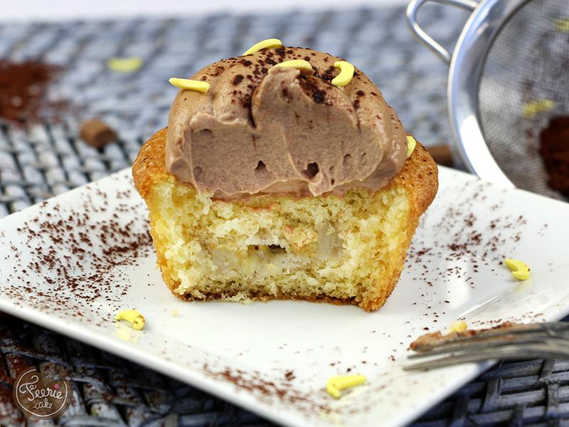 cupcakes banane chocolat lait 3