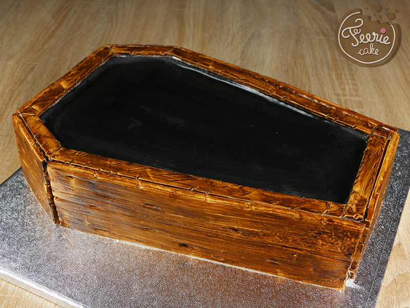 tuto gateau cercueil 13
