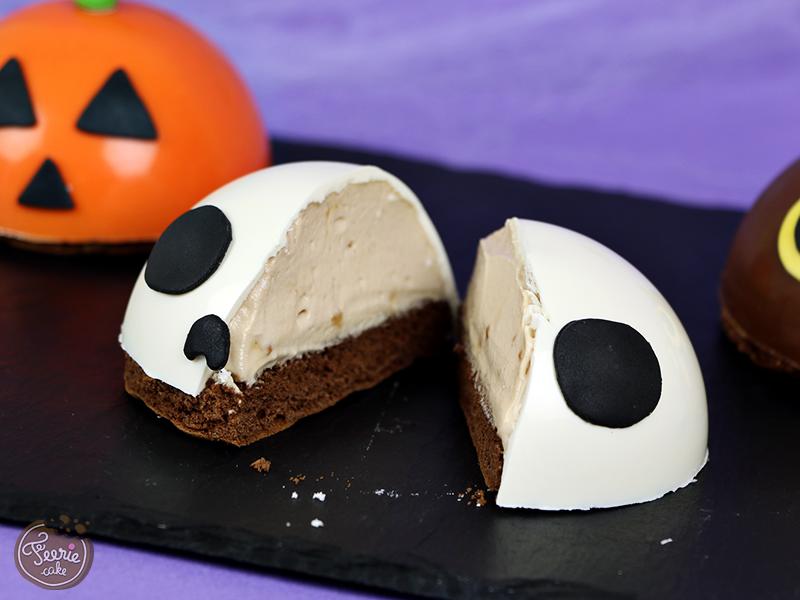 Biscuit demi-sphère Halloween 2
