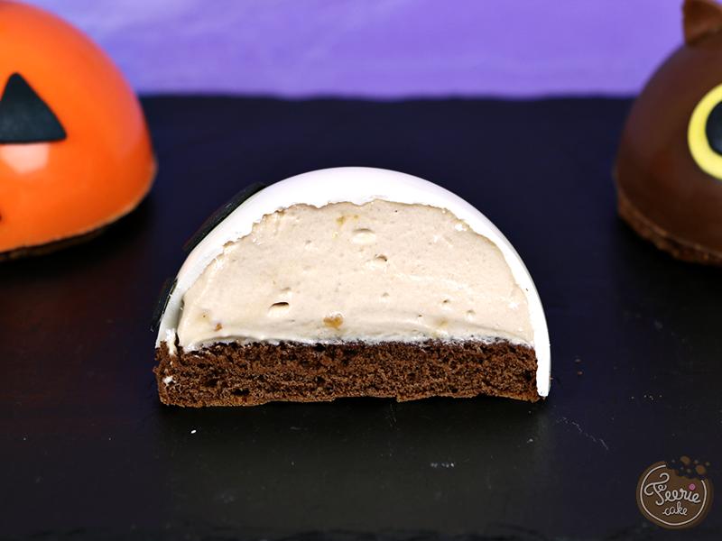 Biscuit demi-sphère Halloween 3