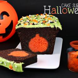 Cake surprise halloween