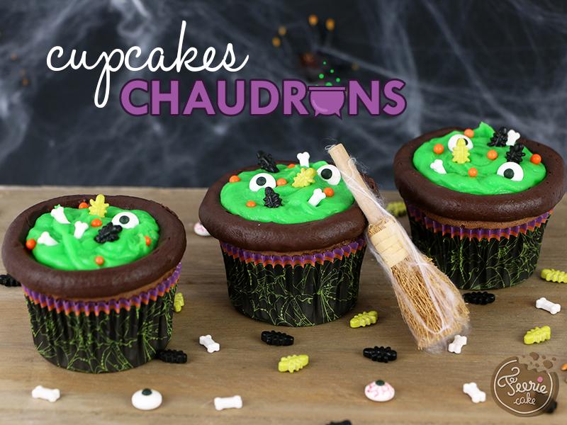 Cupcakes chaudron 1
