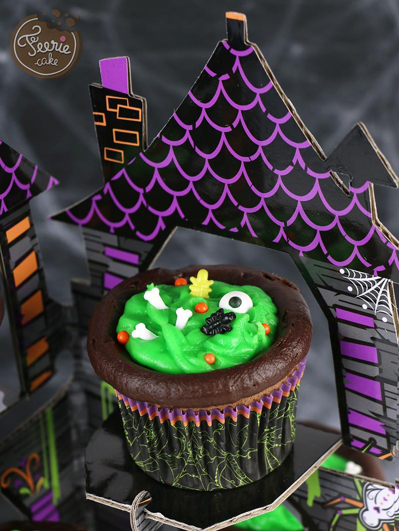 Cupcakes chaudron 2