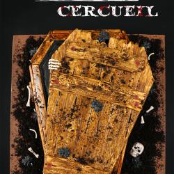 Gâteau 3D cercueil