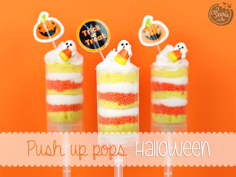 Push up pops Halloween 1
