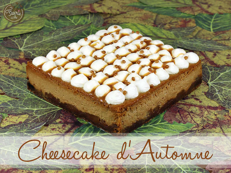 cheesecake pomme caramel speculoos