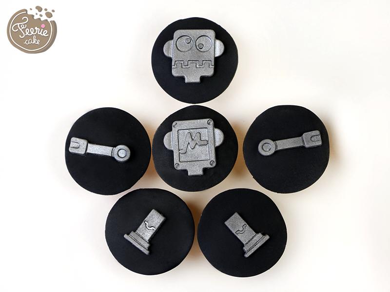 mini cupcakes robots vs monstres 2