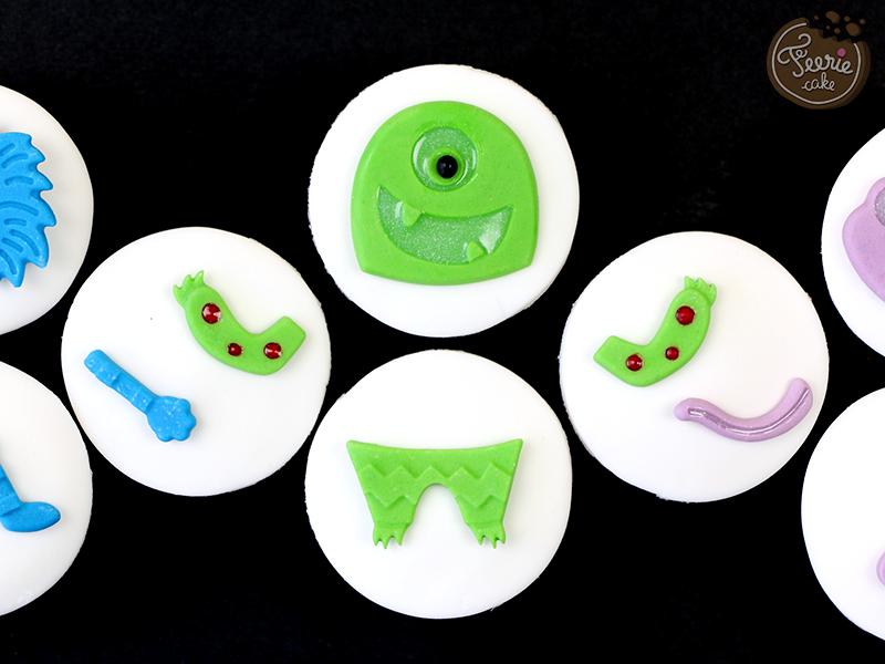 mini cupcakes robots vs monstres 3