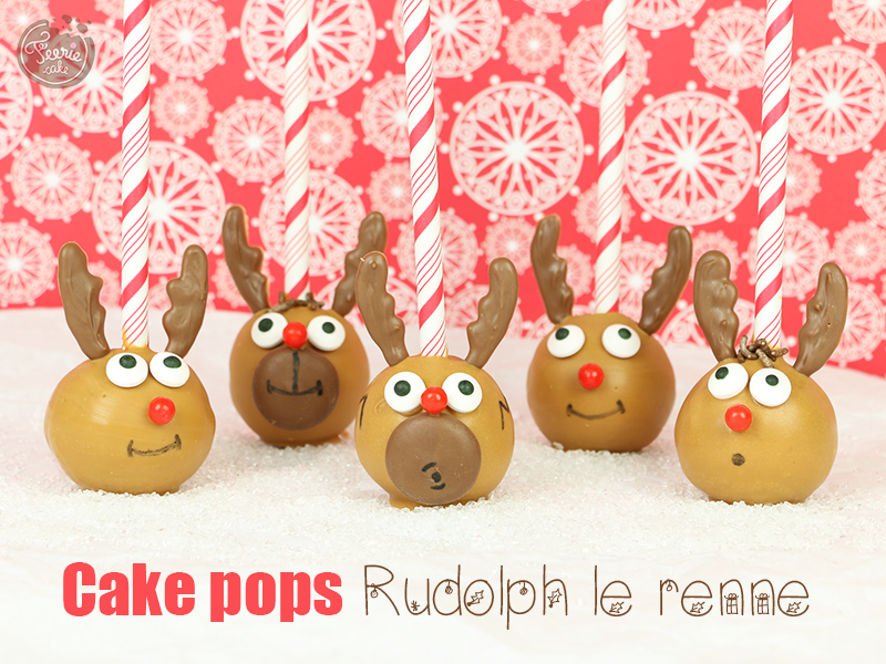 Cake pops Rudolph le renne 1