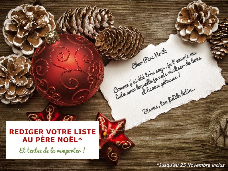 """Concours """"Rédige ta lettre au Père Noël"""""""