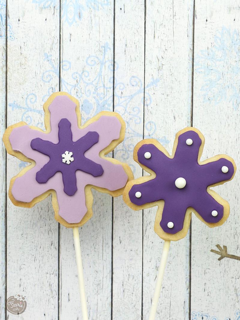 flocons violet