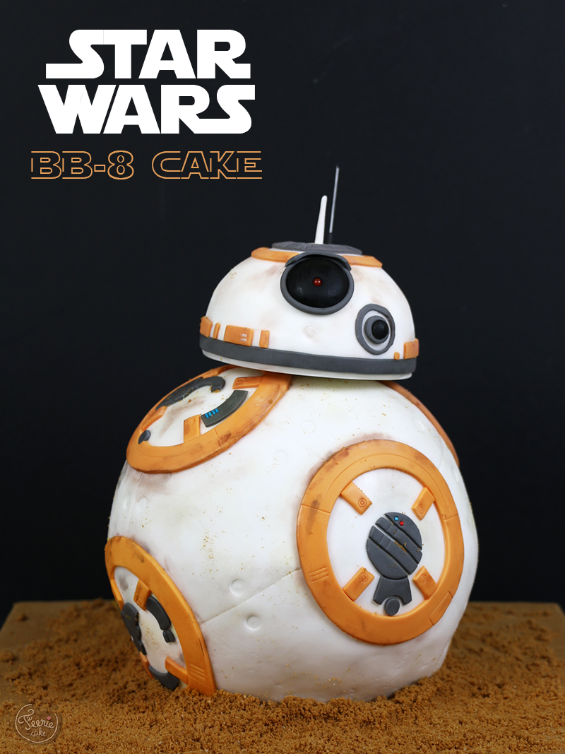 bb 8 cake star wars f erie cake. Black Bedroom Furniture Sets. Home Design Ideas