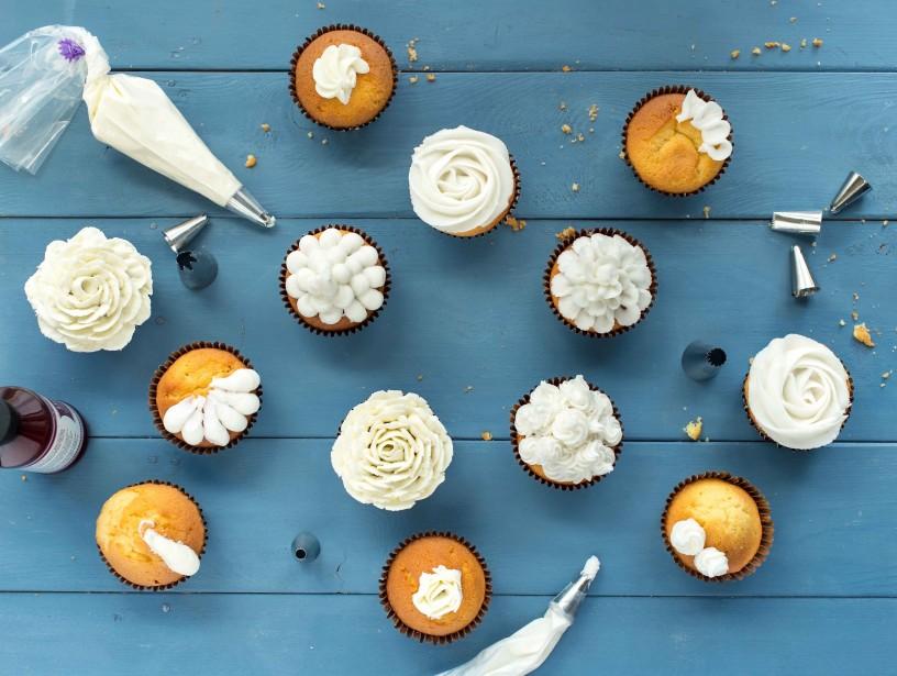 Tutoriel glaçage de cupcakes