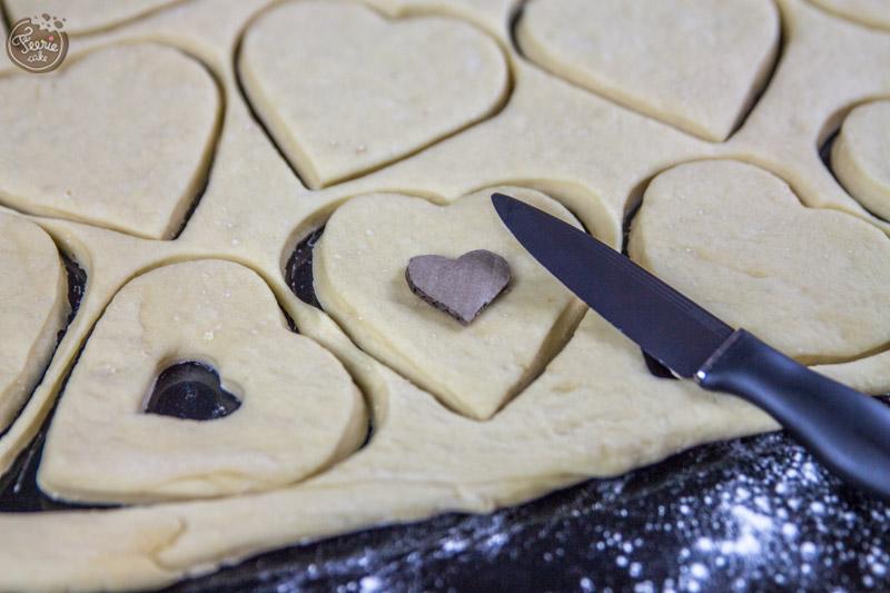 Donuts de l'amour sur feerie cake - préparation-3