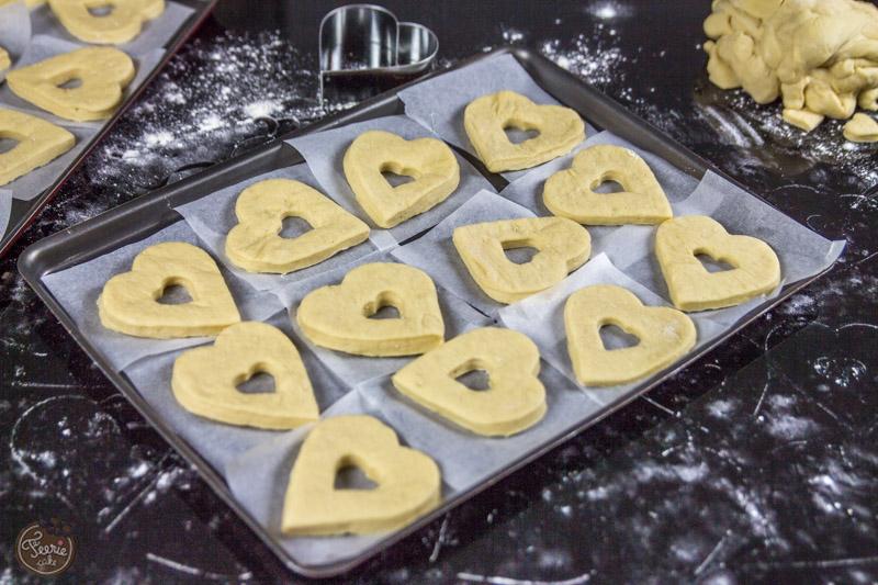 Donuts Saint Valentin préparation-5