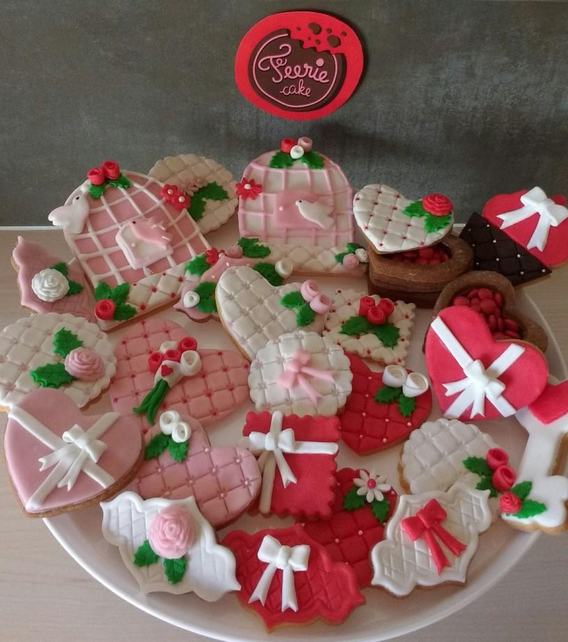 Féerie Cake Concours Saint Valentin - Biscuits Romantiques de Mélanie