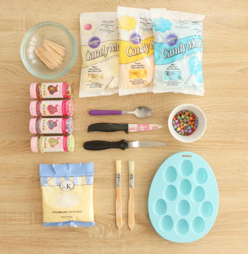 feerie cake - oeufs de paques - tutoriel activité avec enfants