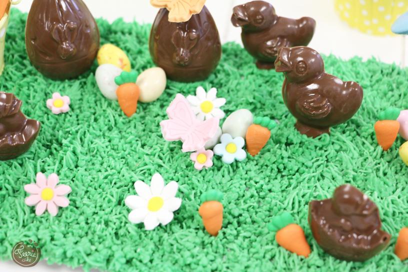 les chocolats de Pâques féerie cake