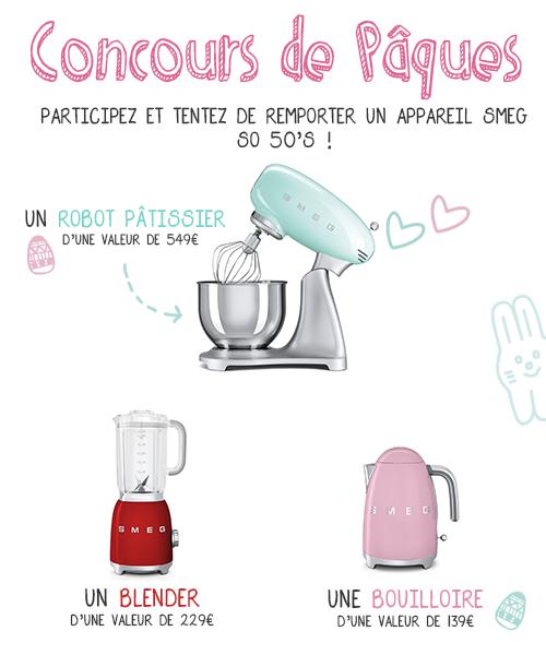 concours de Pâques Féerie Cake & SMEG