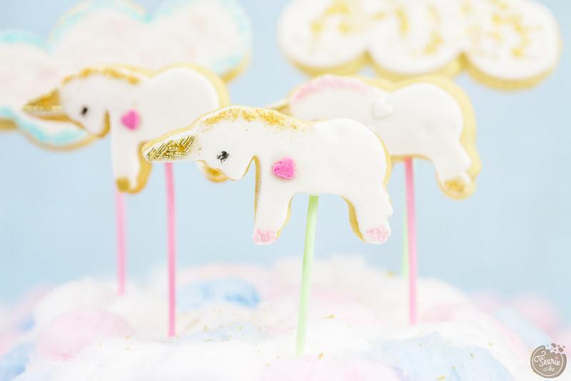 Une recette magique : les cookies pop licornes