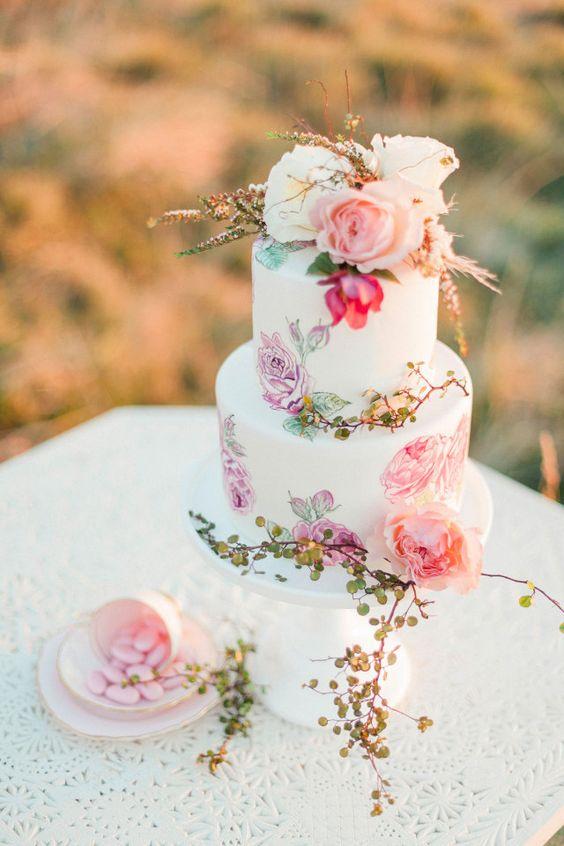 pâte à sucre wedding cake 1