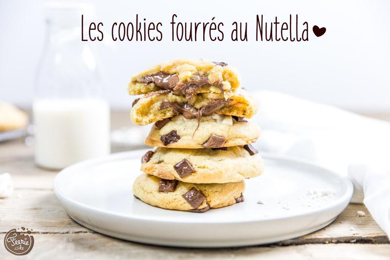 La recette facile des cookies au nutella - Recette de cookies au nutella ...