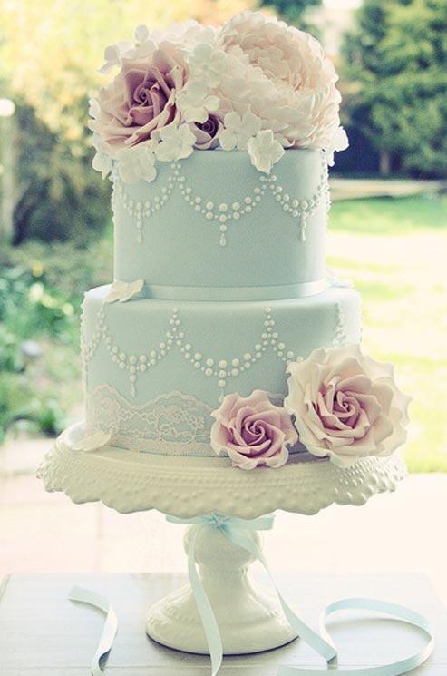 pâte à sucre wedding cake 2