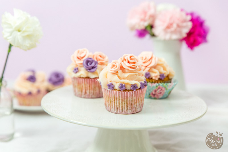 Cupcakes vanille pastels 2