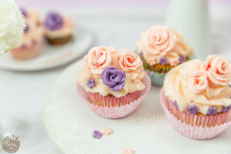 Cupcakes vanille pastels 1