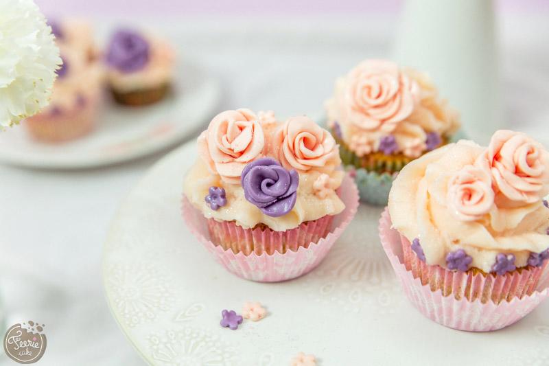 Cupcakes vanille pastels 1
