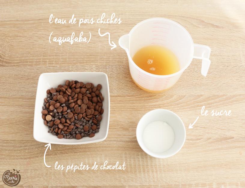 L'Aquafaba ou comment réaliser une Mousse au Chocolat sans Oeuf !
