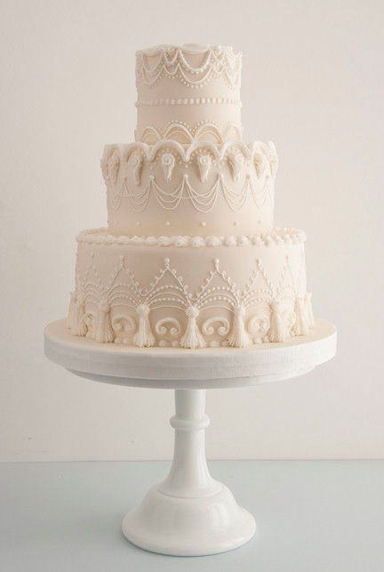 Glace royale wedding cake