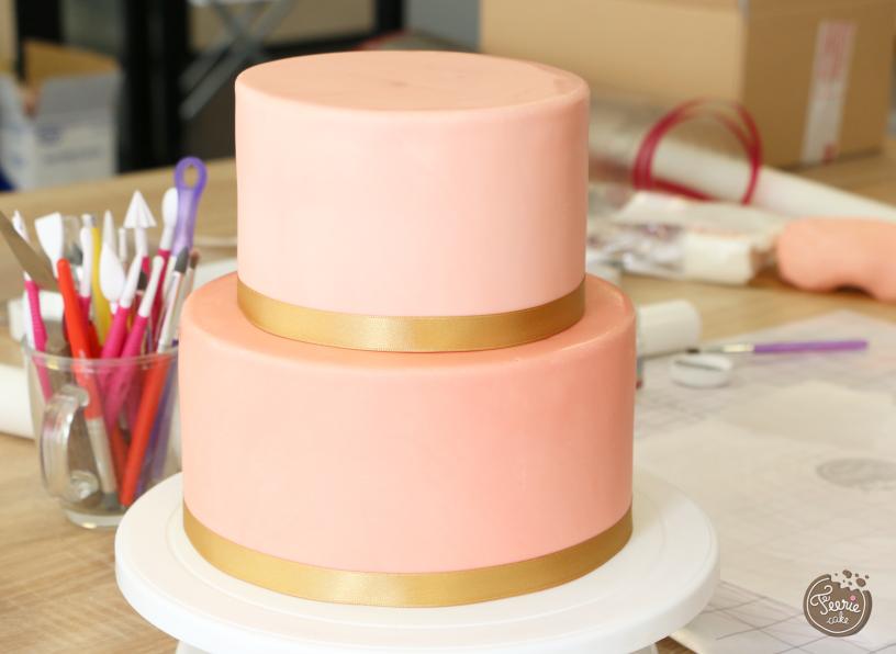 wedding cake ruban