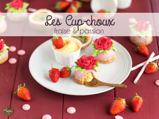 choux fraise passion + creme au beurre-3