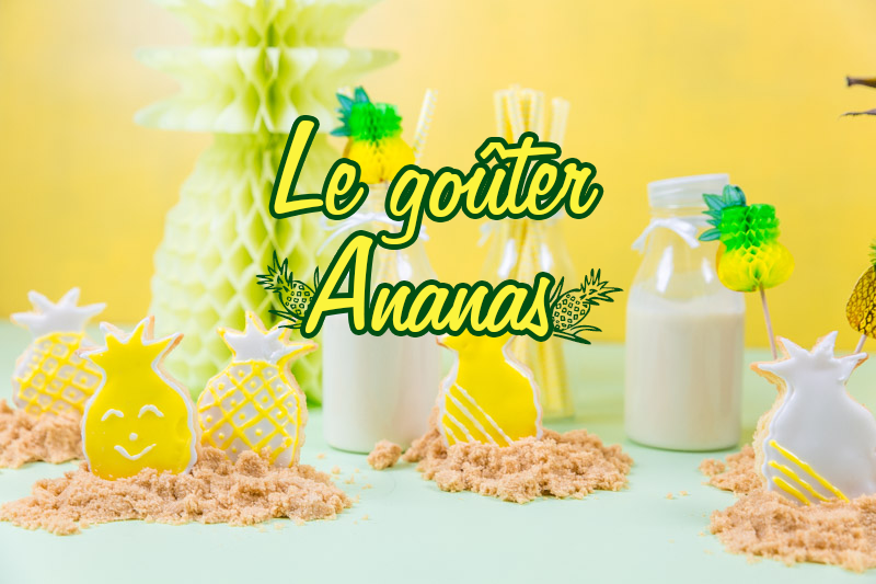 biscuits ananas le goûter