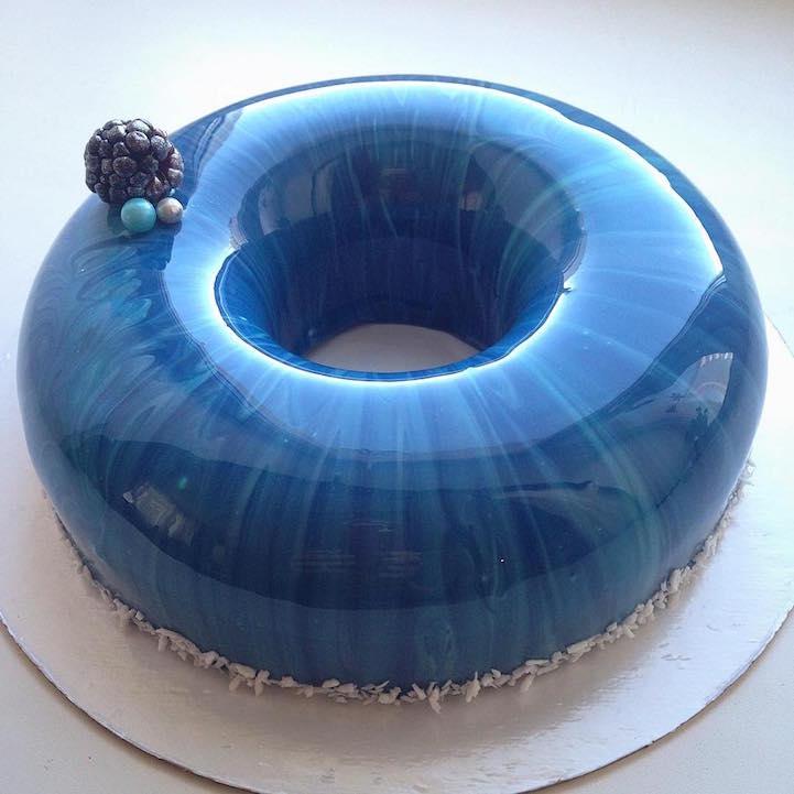 Comment faire un gateau de couleur bleu