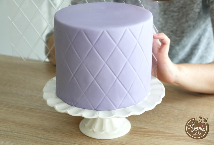 gâteau de princesse feuille de texture 2
