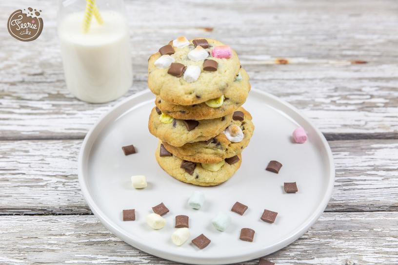 s'mores cookies chocolat