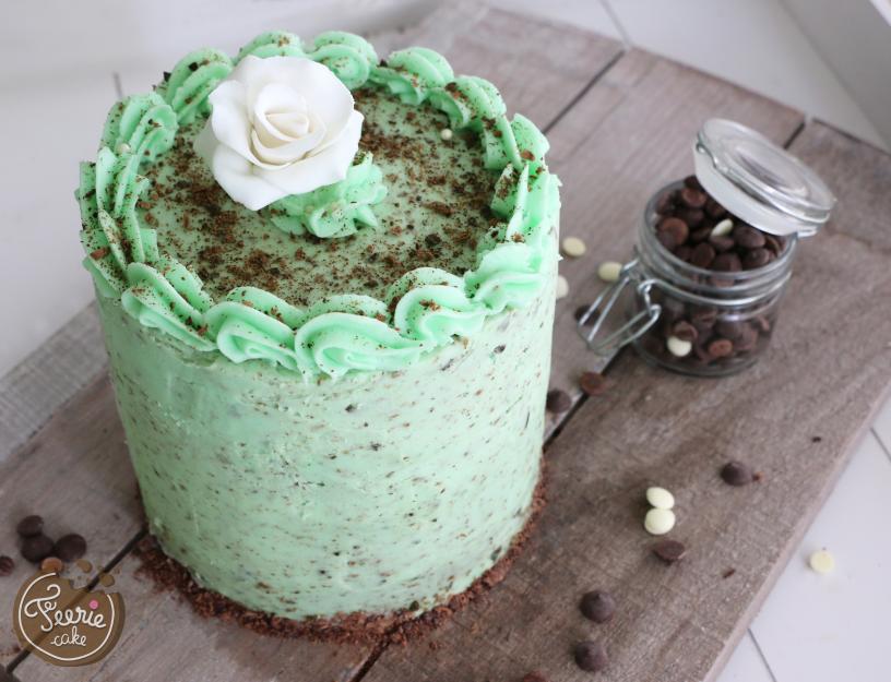 Layer cake chocolat menthe 1