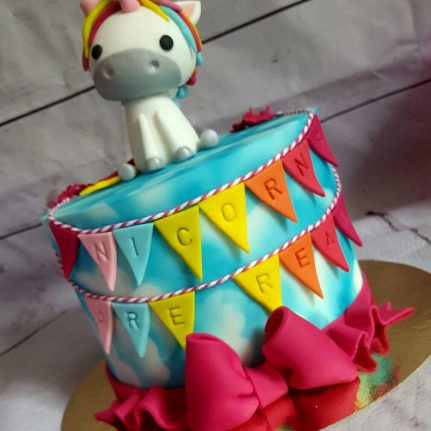 Concours de l'été : le gâteau licorne de Lucile