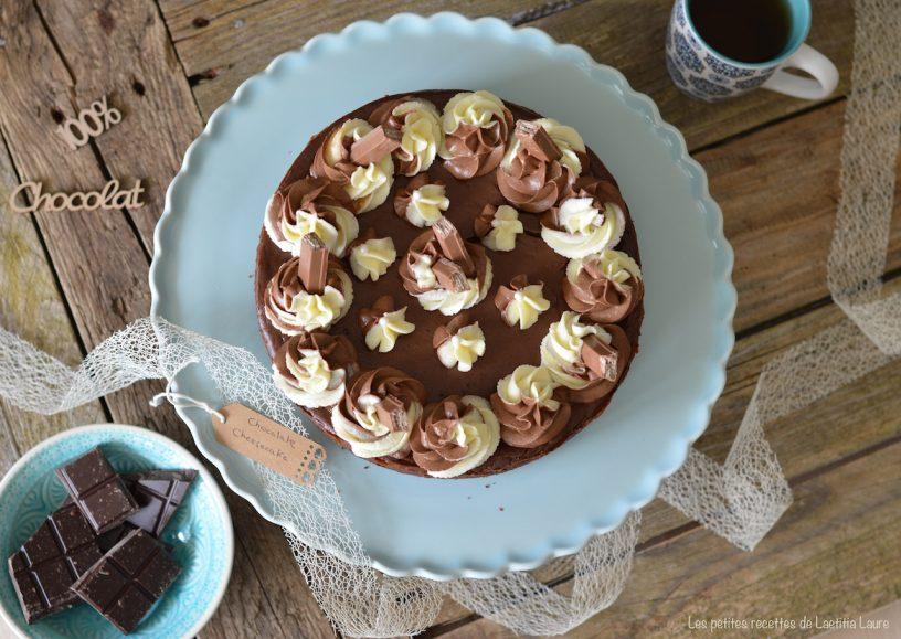 cheesecake chocolat kitkat 1