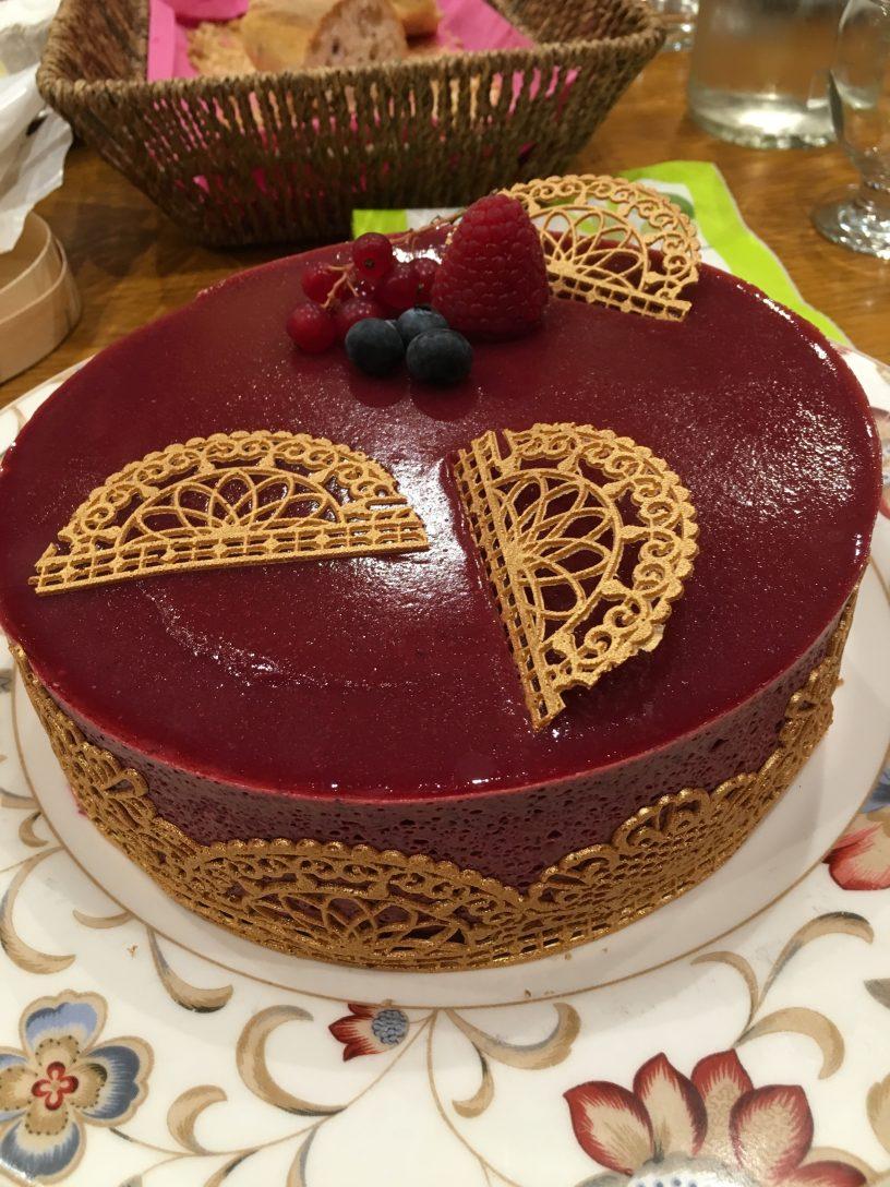 bavarois fruits rouges concours 1