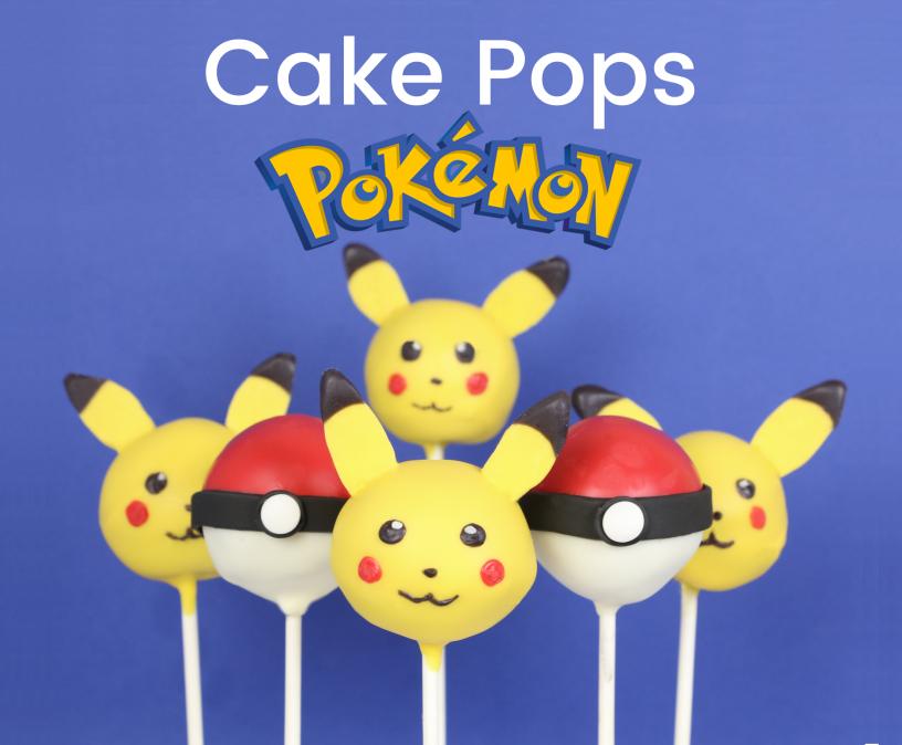 Anleitung Pokemon mit Pikachu und Pokebällen