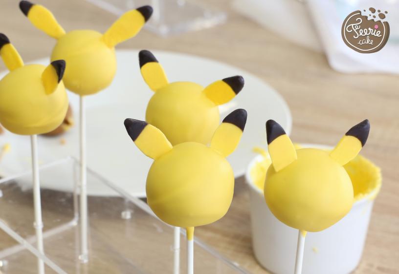 cake pops pokémon pikachu