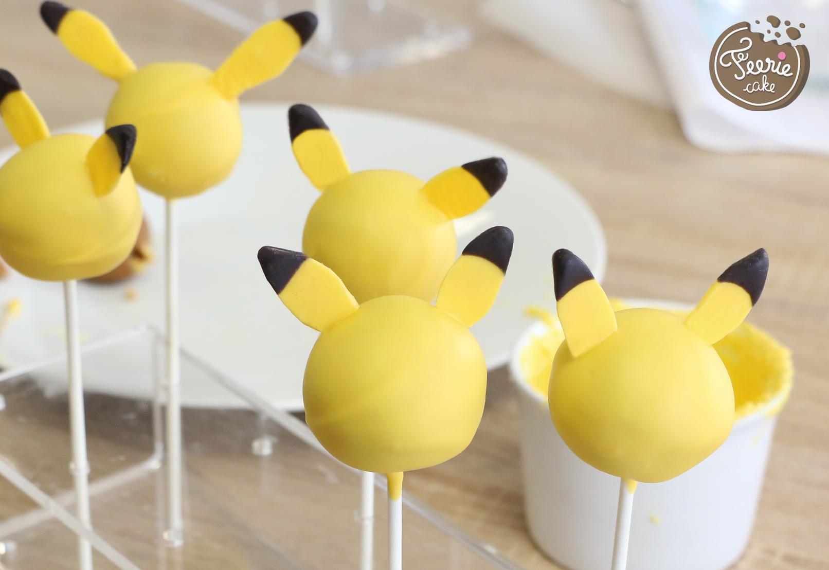 Préférence Cake pops Pokémon, le tutoriel Pika Pika - Féerie Cake XD28
