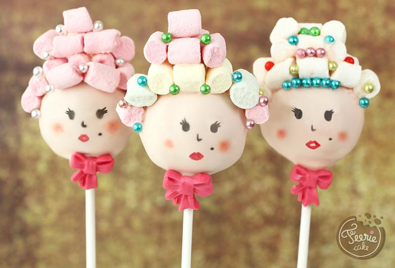 cake pops Marie-Antoinette